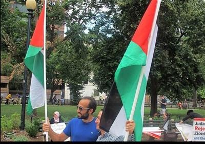 امریکہ : واشنگٹن ڈی سی میں عالمی القدس ریلی نکای گئی