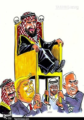 کاریکاتور/ حامیان کودتای عربستان !!!