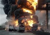 کامیون انفجار