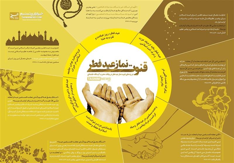اینفوگرافیک/ شرح دعای قنوت نماز عیدفطر