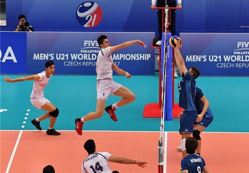 ایران تتاهل الى الدور الثانی فی بطولة شباب العالم بالکرة الطائرة