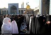 نماز عید قربان در حرم حضرت معصومه (س) اقامه شد