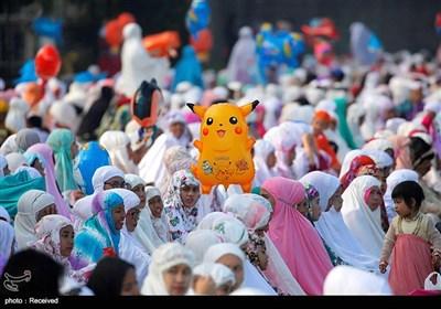 عید الفطر فی جمیع انحاء العالم