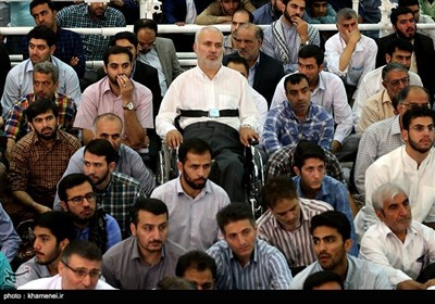 Ayatollah Khamenei Leads Eid Prayers in Tehran
