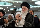برگزاری نماز عید فطر به امامت امام خامنهای در مصلی