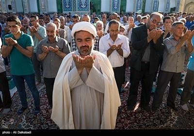 صلاة عید الفطر السعید فی مختلف المحافظات الایرانیة