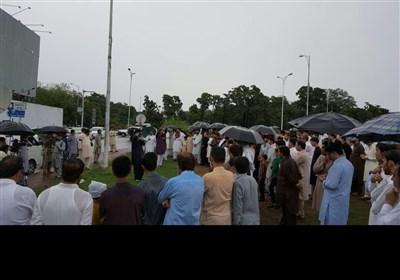 اسلام آباد میں کوئٹہ اور پاراچنار شہداء سے اظہار یکجہتی کیلئے علامتی دھرنا