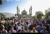 1450 امامزاده میزبان نمازگزاران عید سعید فطر