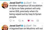 Iran's Zarif: Ban on Muslims Not to Keep US Safer