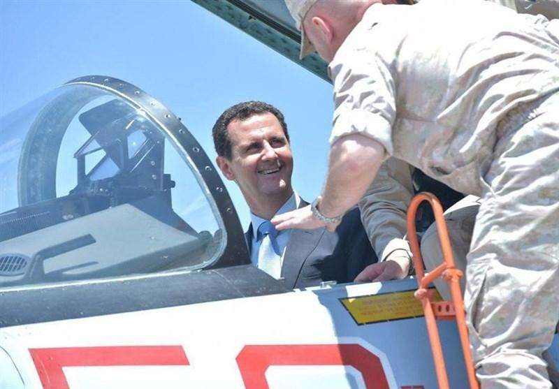 الرئیس الأسد مطار حمیمیم