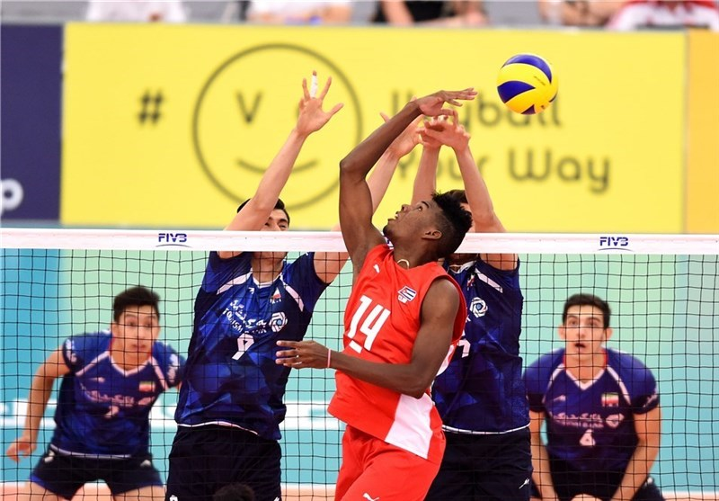 Iran Beaten by Cuba at FIVB Volleyball U-21 World Championship