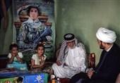 دیدار دبیر کل نجباء با خانواده شهدای مقاومت عراق