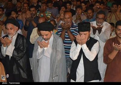 کراچی:پاراچنار کے مظلوم عوام سے اظہار یکجہتی کرتے ہوئے نمائش چورنگی پر علامتی دھرنا