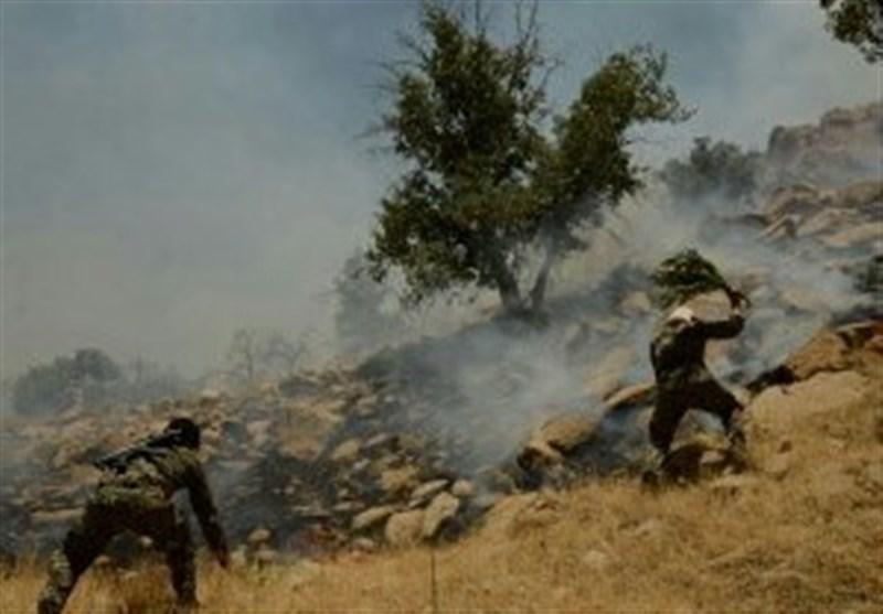 آتشسوزی در منطقه حفاظت شده نئور اردبیل مهار شد