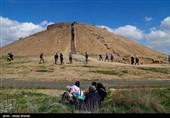Ozbaki Hill in Iran's Alborz