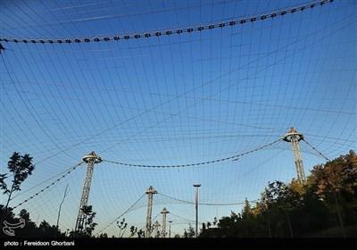 تہران میں پرندوں کے باغ کا دوسرا حصہ بھی مکمل