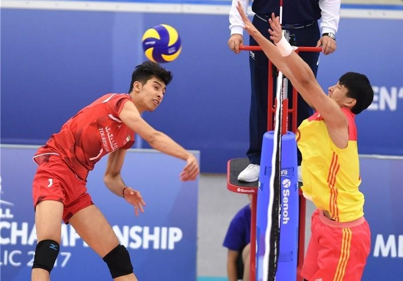 FIVB Volleyball U-21 World Championship: Iran Edges Past China