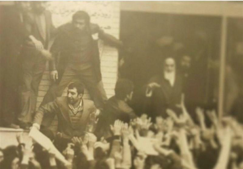 شهید کچویی در دیدار با امام خمینی