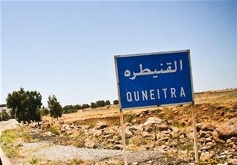 ضربة إسرائیلیة استهدفت نقطة للجیش السوری بریف القنیطرة