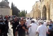 رژیم صهیونیستی مسجدالاقصی را به روی نمازگزاران فلسطینی بست