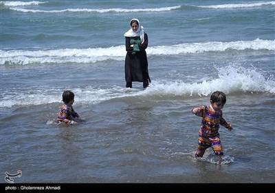 ایران کے صوبہ مازندران کا سی ویو