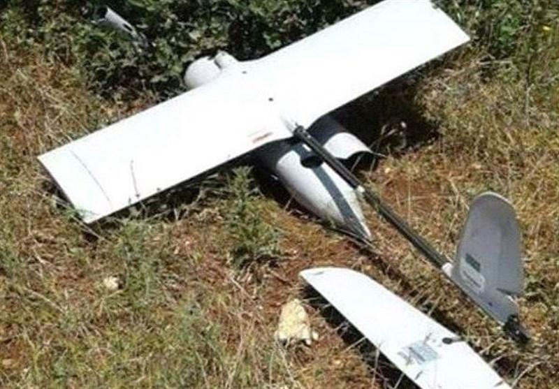 غزہ پٹی میں غاصب صیہونی کا ایک اور ڈرون گر کر تباہ