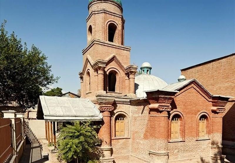 یکی از کوچکترین کلیساهای جهان در پایتخت خوشنویسی ایران