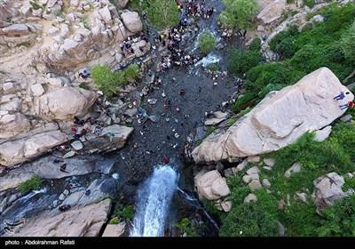 Summer Travelers in Iran's Western City of Hamedan