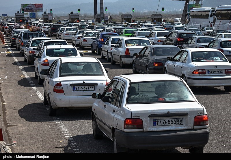 آخرین وضعیت راهها| ترافیک در مسیرهای منتهی به کرج و تهران