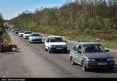 آخرین وضعیت راهها| ترافیک نیمهسنگین در 3 محور