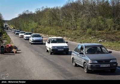 آخرین وضعیت راهها  ترافیک نیمهسنگین در ۳ محور