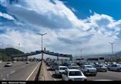 ترافیک در خروجی های استان گیلان