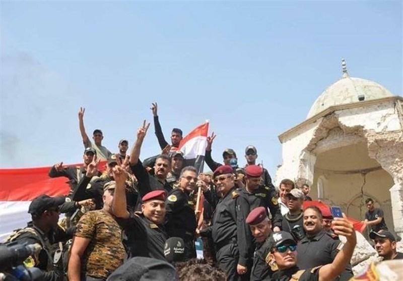 قیادة العملیات المشترکة العراقیة تعلن السیطرة على الموصل القدیمة