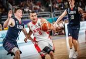 بسکتبال جوانان ایران آمریکا