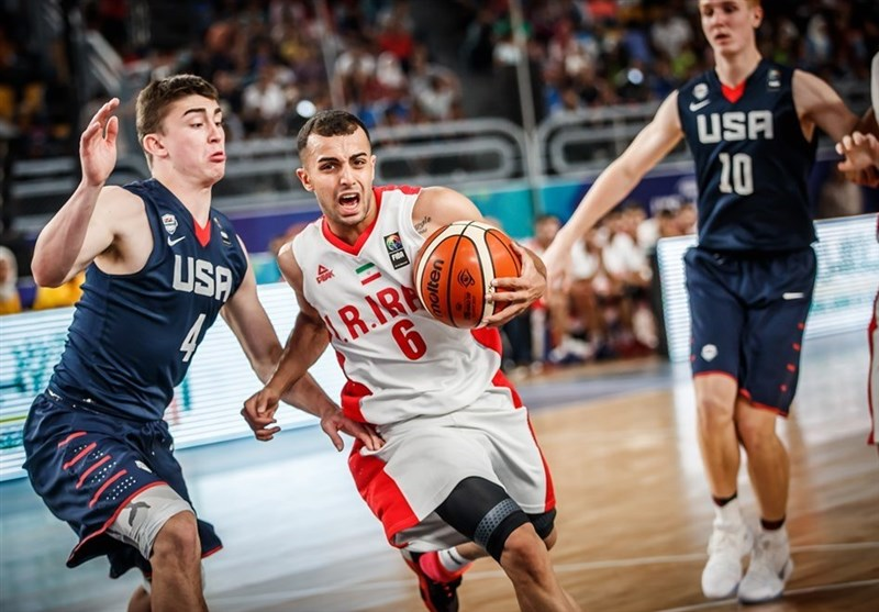 FIBA U-19 World Cup: Iran Beaten by USA