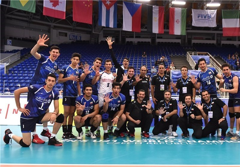 Iran Comes Fifth at FIVB Volleyball U-21 World Championship