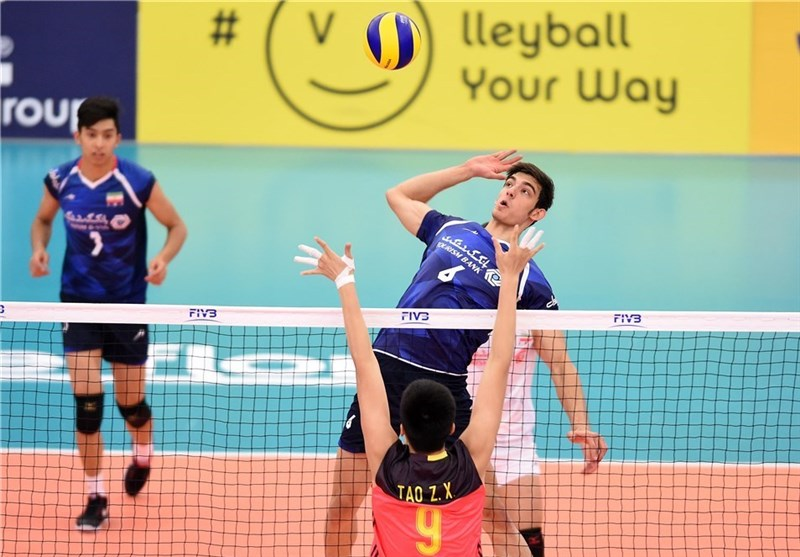FIVB Volleyball U-23 World Championship: Iran Loses to Japan