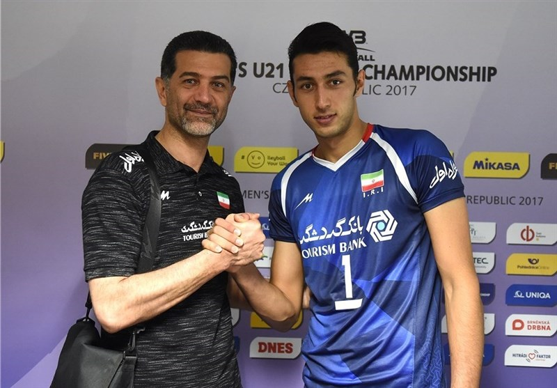 Coach Ataei Satisfied with Iran's Fifth Place at FIVB U-21 World Championship