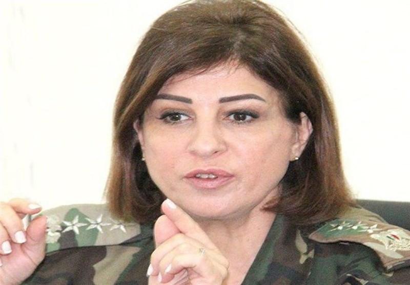 شامی فوج کی پہلی خاتون میجر جنرل کی تقرری