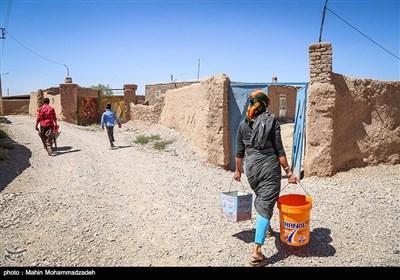 روستای کم آب چنبرغربال - خراسان