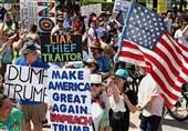 تظاهرات تگزاس