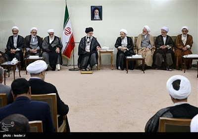 Iran's Judiciary Officials Meet Leader