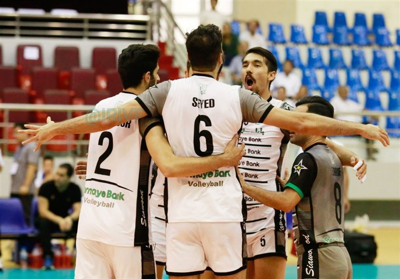 Iran's Sarmayeh Bank Beats Toyoda of Japan at Asian Club Volleyball Championship