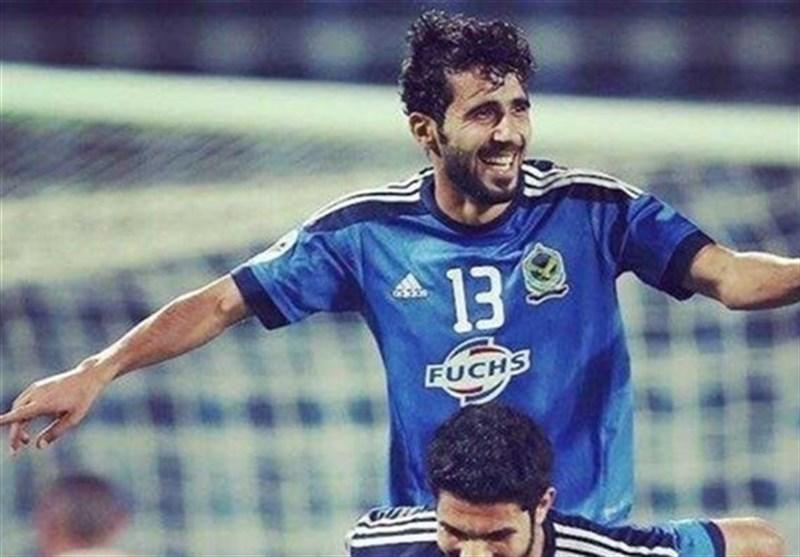 """اللاعب العراقی """"بشار رسن"""" یصل طهران غدا للالتحاق بنادی برسبولیس"""