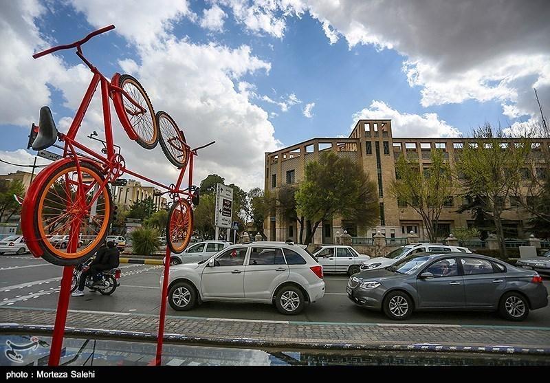 اصفہان؛ سائیکلوں کا شہر