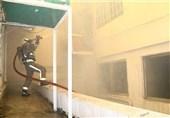 آتش سوزی در بیمارستان خرمشهر جان یک بیمار را گرفت
