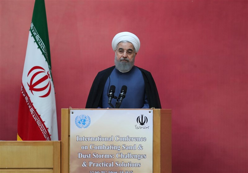 Tackling Dust Pollution A Collective Responsibility: Iran's President