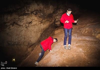 Iran's Beauties in Photos: Saholan Cave