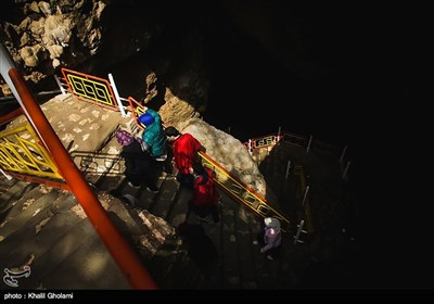 Iran's Beauties in Photos: Saholan Cave