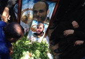 تشییع شهید محمد جلال ملک محمدی